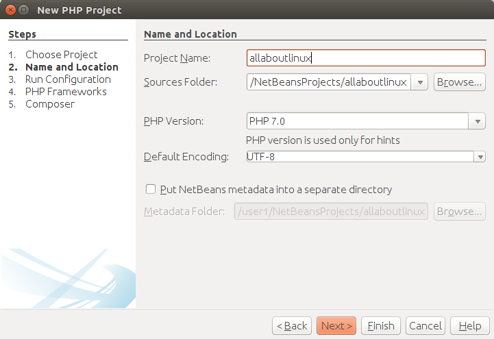 install Netbeans PHP IDE in Ubuntu | allaboutlinux eu